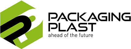 Logo packaging plast
