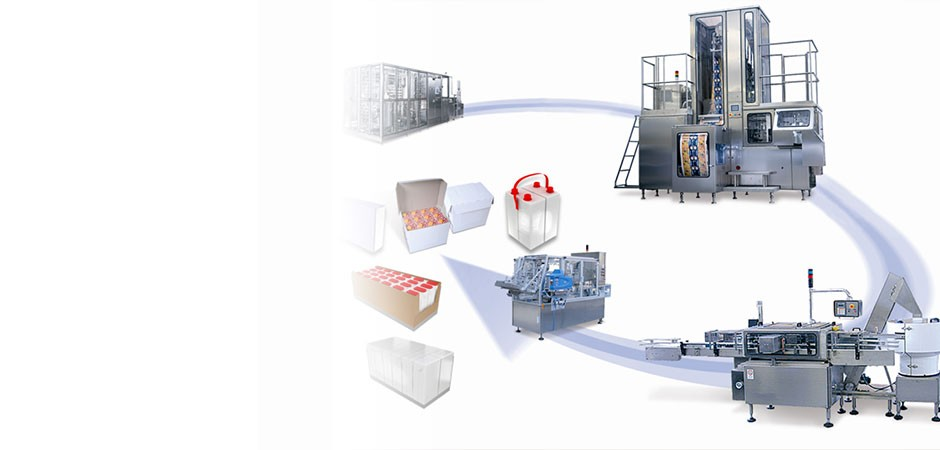 Aseptic packaging machine by IPI