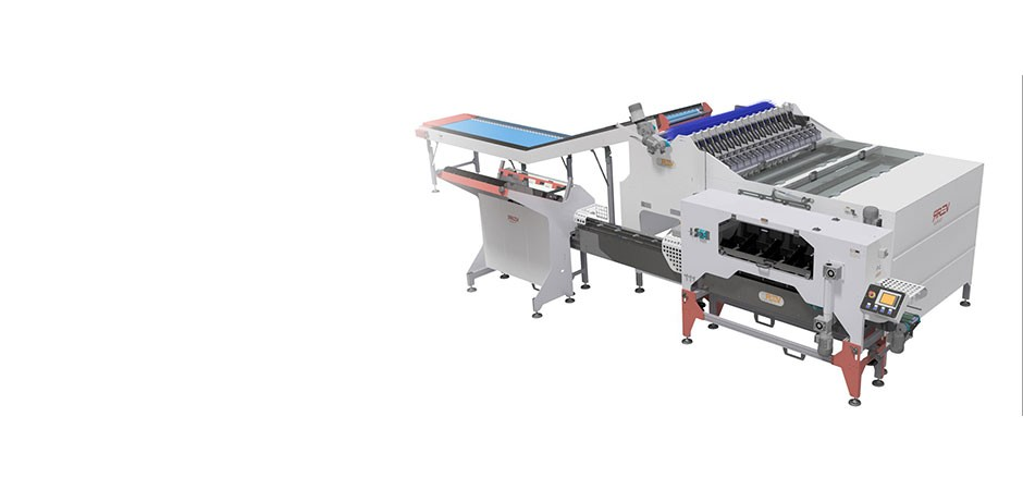 REV netting machines - Ultra gentle weigher for punnets A16 VELVET P4